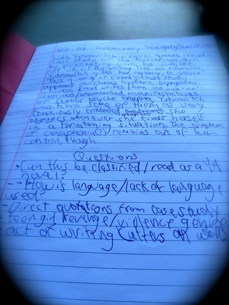 This is what my penmanship looks like now that I am left-handed.