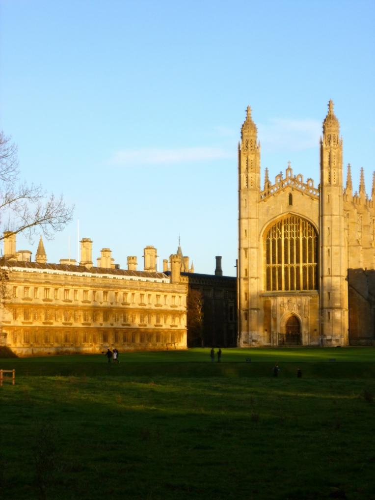 Secretly touristing in Cambridge.