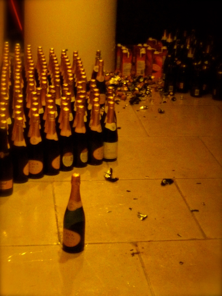 The constant stream of Narnian Champagne.