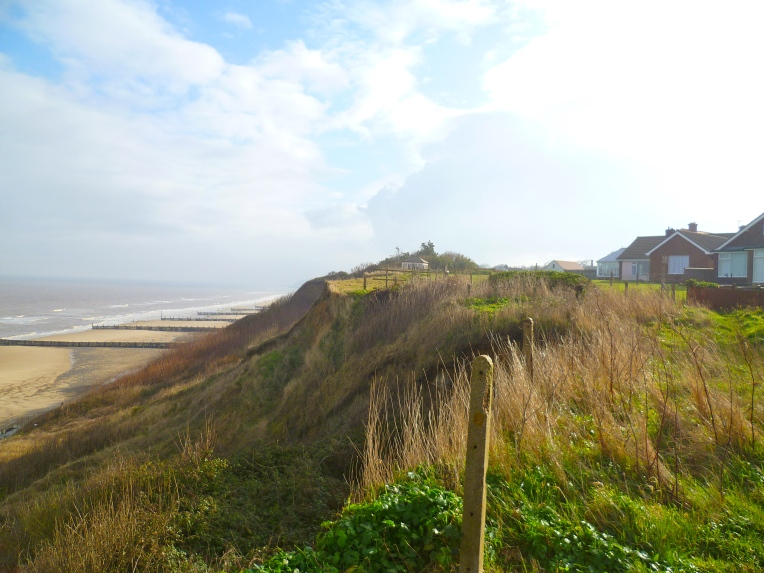 The view from Overstrand.