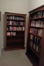 books no longer on the floor.
