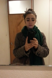 before knitting class