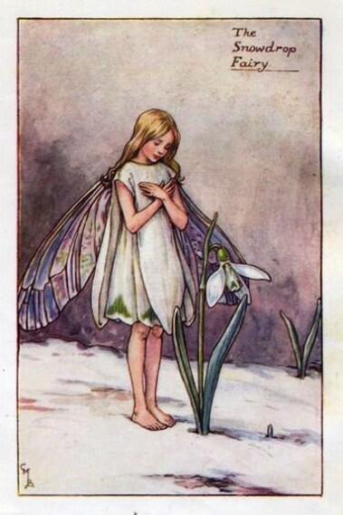 Cecily Mary Barker - Snowdrop Fairy